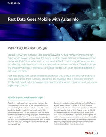 Case Study: Mahindra Comviva Implements Real-Time Telecommunications with Fast Data