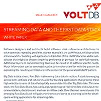 Whitepaper: Streaming Data and the Fast Data Stack