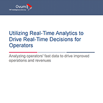 Whitepaper: Drive Improved Operations and Revenues with Real-time Analytics and Actions