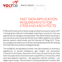 Whitepaper: Fast Data Application Requirements for CTOs and Architects