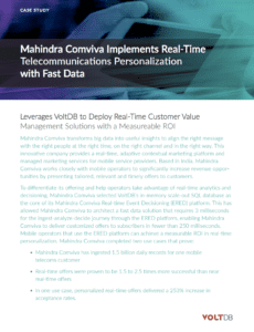 Mahindra Comviva Use Case