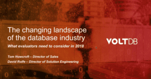 Pre-Recorded Webinar: Choosing the Right Database - What Evaluators Need to Know