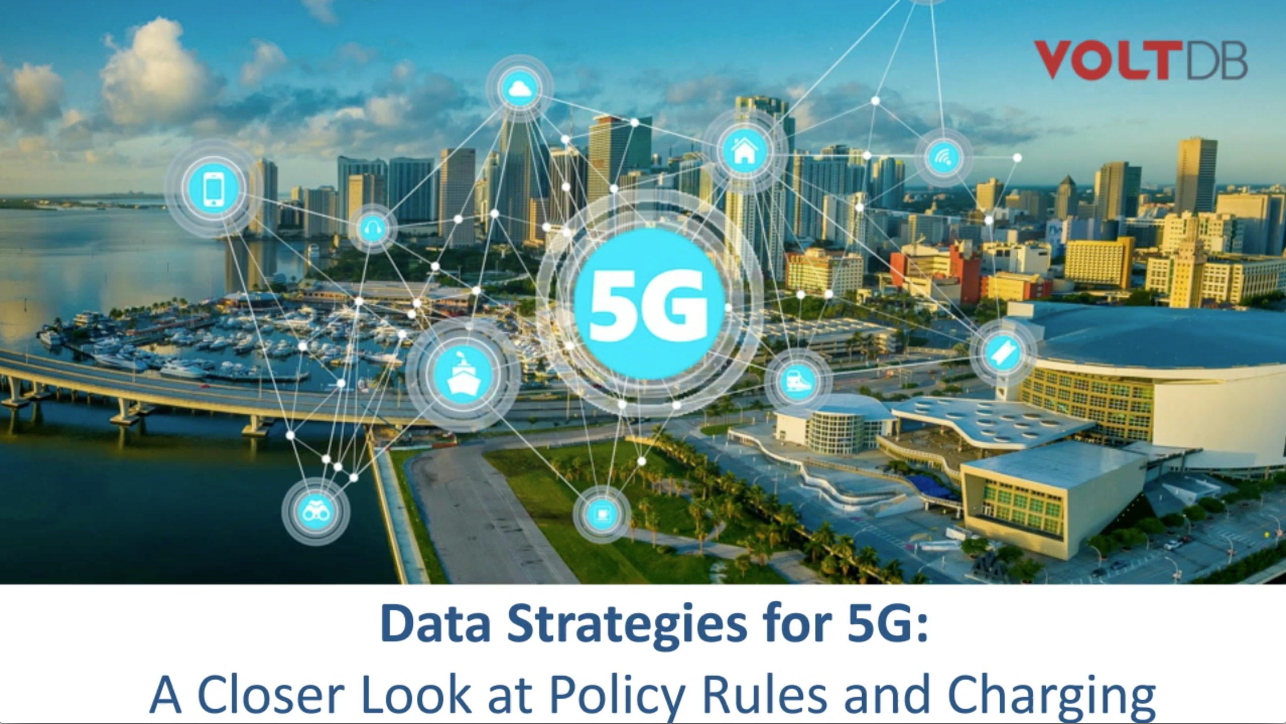 Data Strategies for 5G Webinar