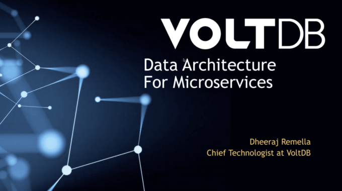 Pre-Recorded Webinar: Is Your 5G Data Architecture Ready for Microservices?
