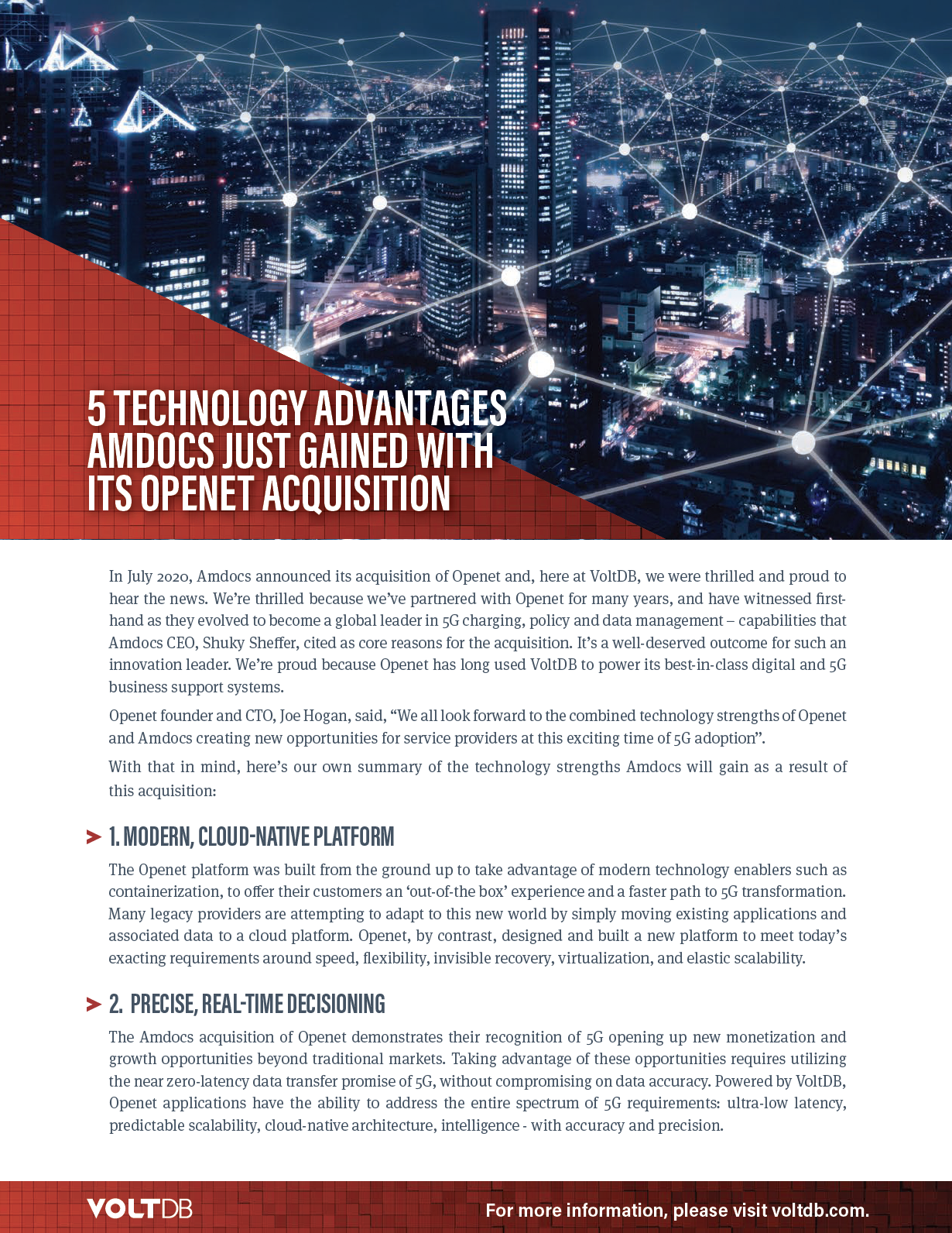 Amdocs Acquires Openet