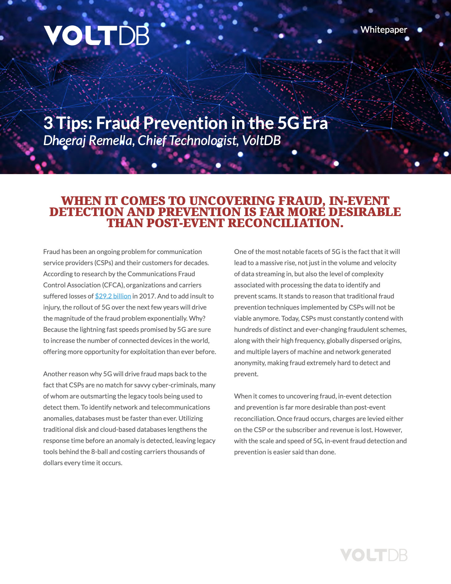 3 Tips for Fraud Prevention in 5G