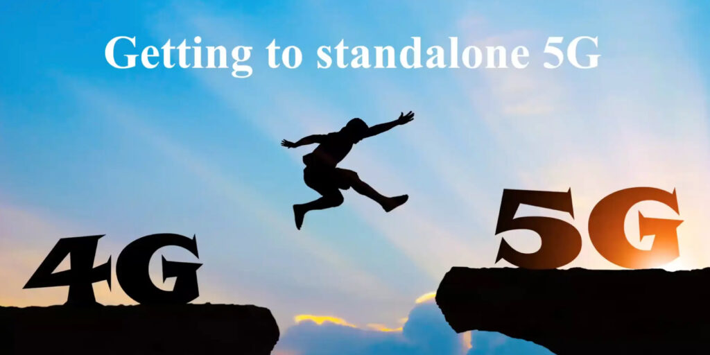 Webinar: Getting to Stand Alone 5G