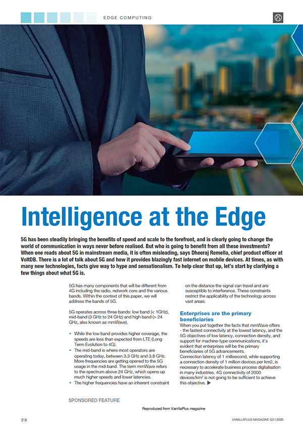 Intelligence on the Edge Report
